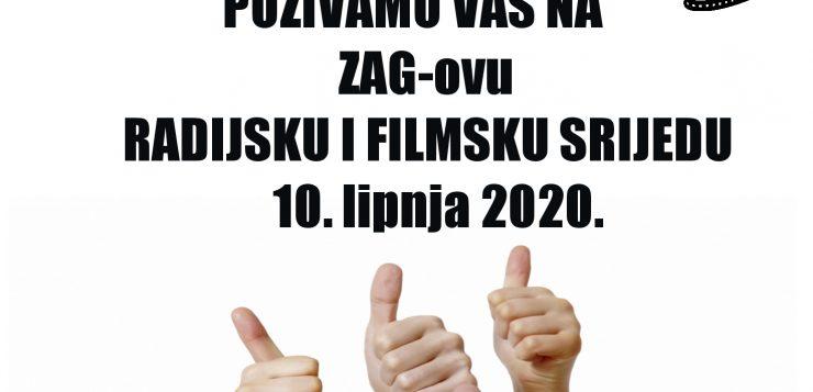ZAGOVA FILMSKA I RADIJSKA SRIJEDA