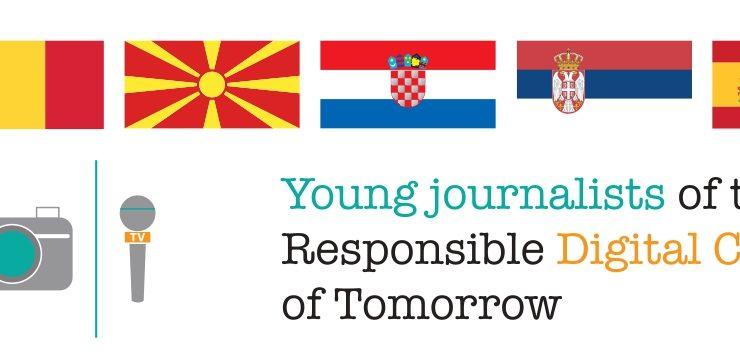 Članovi ZAG-a sudjelovali u E-twinning projektu Mali novinari danas – odgovorni građani sutra 2